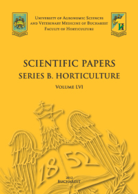 Scientific Papers Series B. Horticulture
